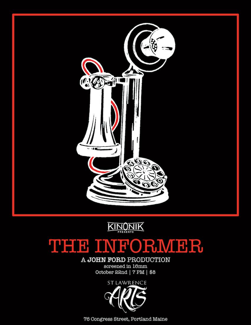 Poster for John Ford's The Informer